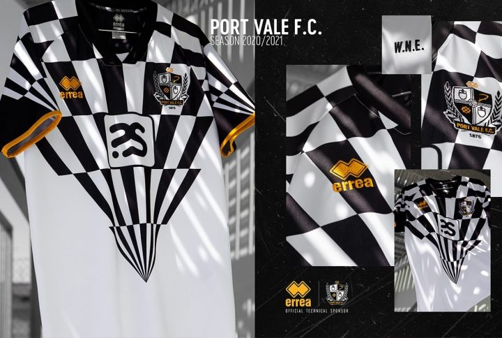 Erreà Sport for Port Vale F.C. inspired by Robbie Williams
